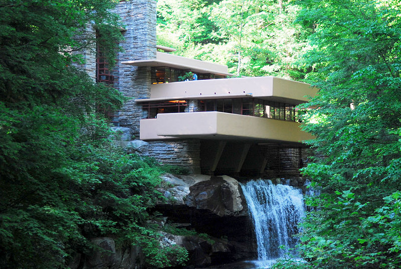 Fallingwater - by Frank Lloyd Wright