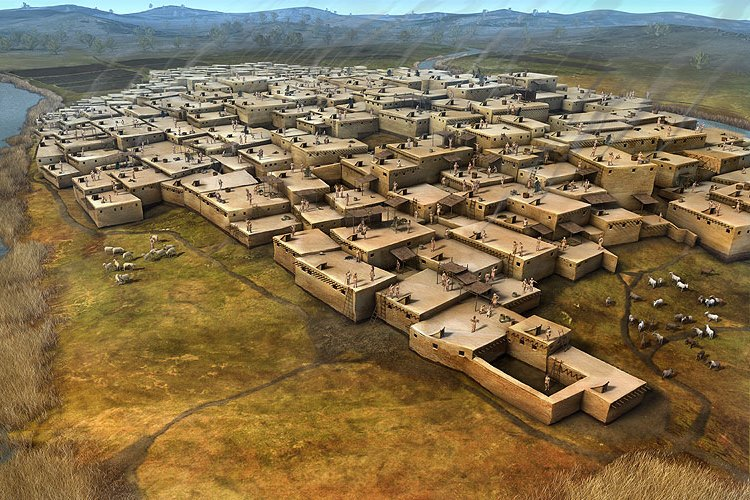 Dějiny bydlení  – vznik prvních vesnic a měst
