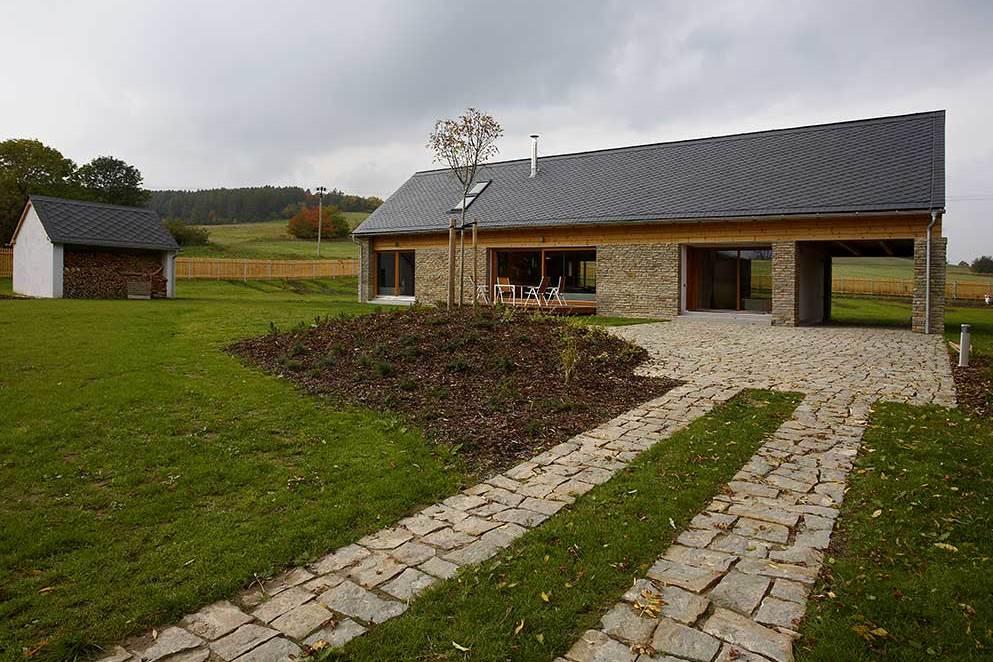 Víkendový dům na Osoblažsku – ATELIER 38