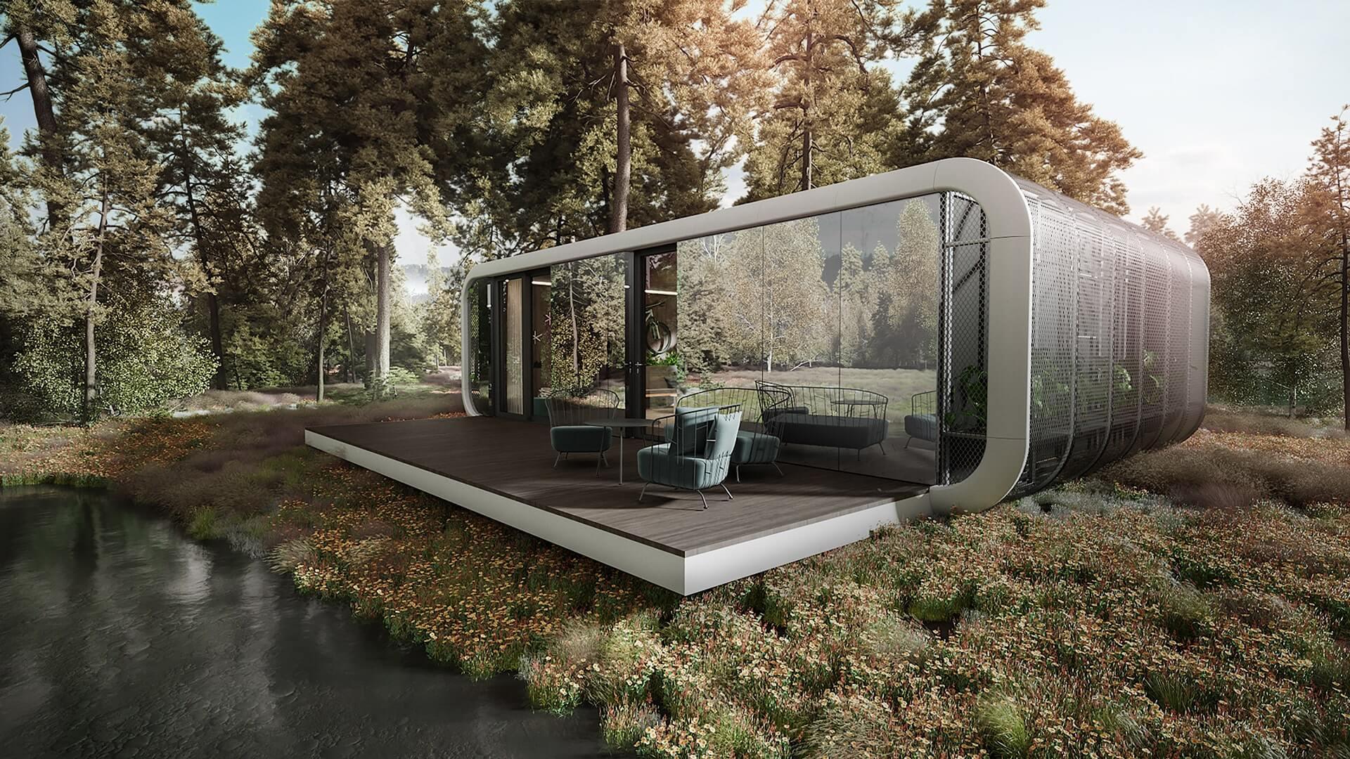 Víkendové designové bydlení hotové za víkend